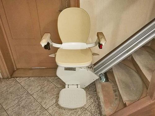 Używane krzesełko schodowe